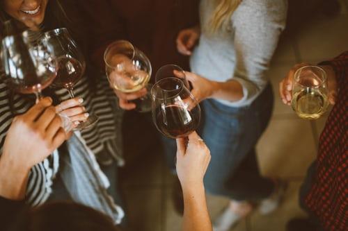 6 bottles of wine